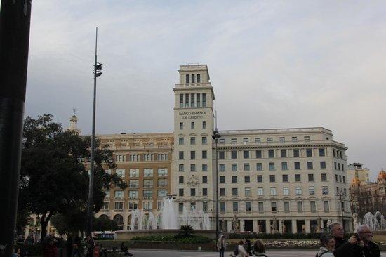 Plaza de Cataluña: Katalunya Meydanı