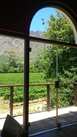Boekenhoutskloof Winery: The are wonderful views at Boekenhoutskloof