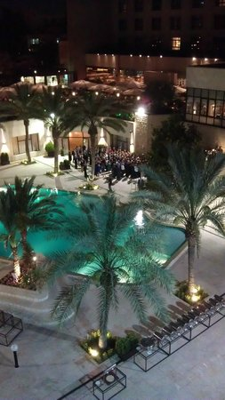 InterContinental Jordan : Wedding party, to include bagpipes