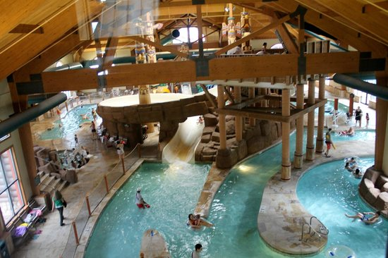 Great Wolf Lodge: Part of  water parks/upper view