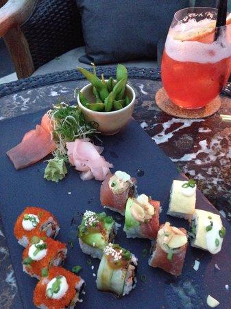 Sundara: Sushi platter
