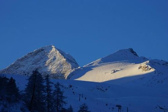 Hotel Alpenhof Hintertux: Hintertuxer Berge