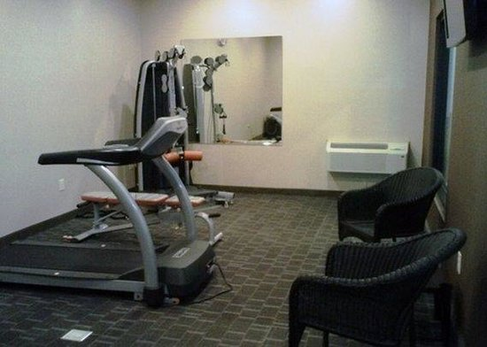 Express Inn & Suites: fitness center
