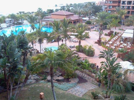 H10 Costa Adeje Palace : Une très belle vue de notre chambre