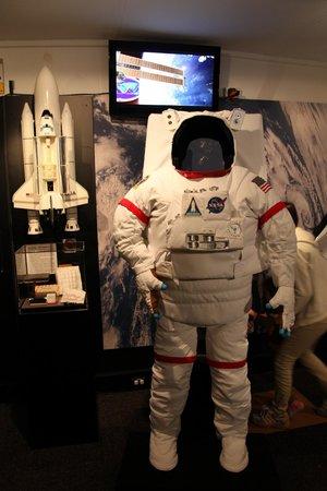 Canberra Deep Space Communication Complex: Astronaut