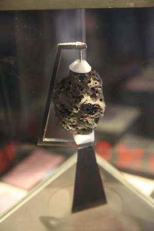Canberra Deep Space Communication Complex: Real Moon Rock
