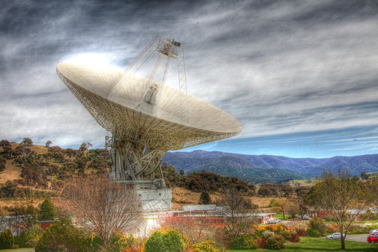 Canberra Deep Space Communication Complex: My impression of the dish