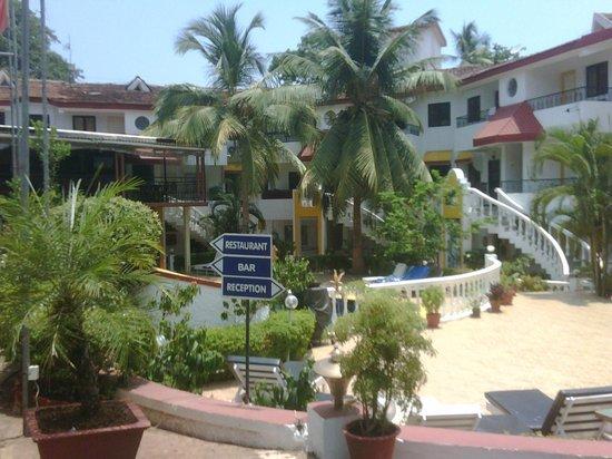 Alegria - The Goan Village: the view