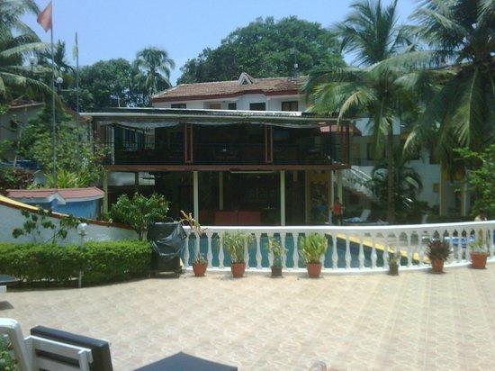 Alegria - The Goan Village: from reception