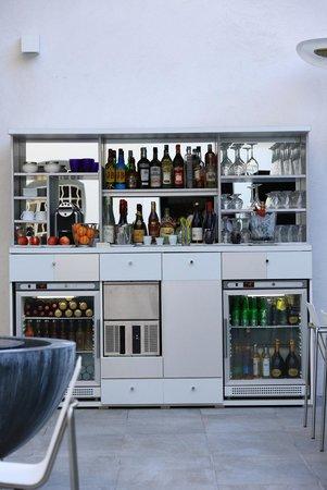 Hôtel Cezanne : Bar - Terrasse