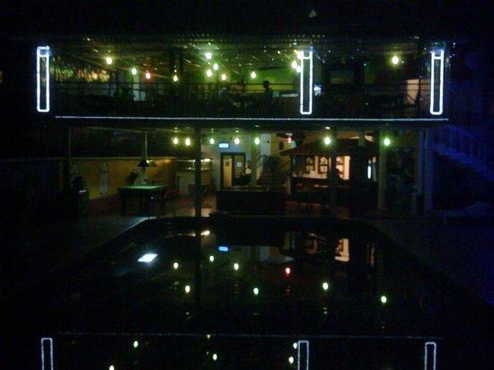 Alegria - The Goan Village: night lighting