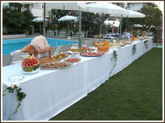 Hotel Parco delle Rose: Buffet del Giovedì