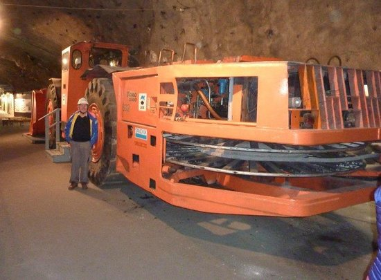 LKAB's Visitor Centre: Elektrisk Laster