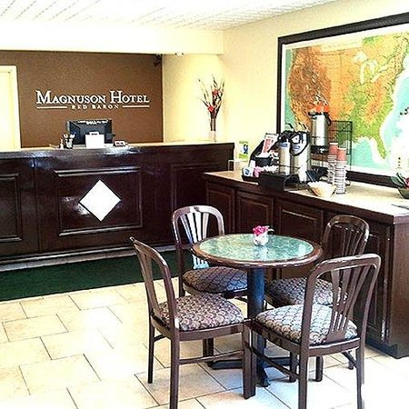 Magnuson Hotel Red Baron Hotel Lobby
