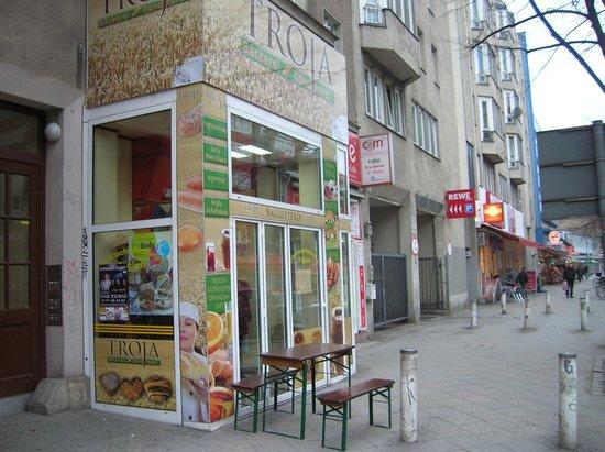 Novum Hotel Aldea Berlin Centrum: Panadería Troja