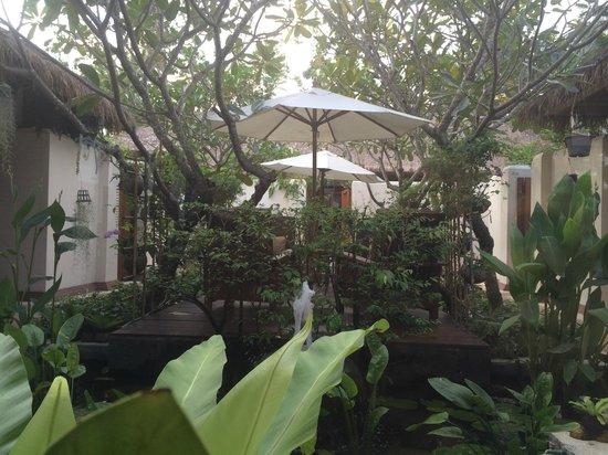Bandara Resort & Spa: Spa inside courtyard