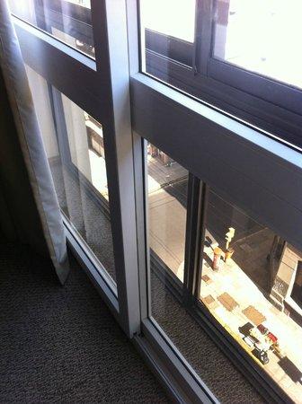 Hotel Bisonte Libertad : Vista janela