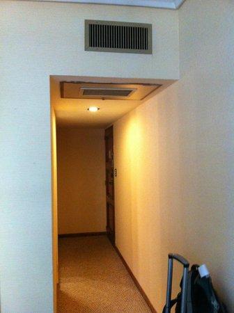 Hotel Bisonte Libertad : AC funcionamento central