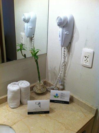 Hotel Bisonte Libertad : Secador cabelo