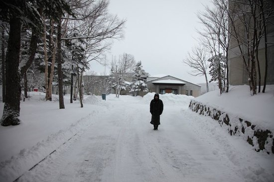 Hotel Ambent Tateshina: 雪のホテル