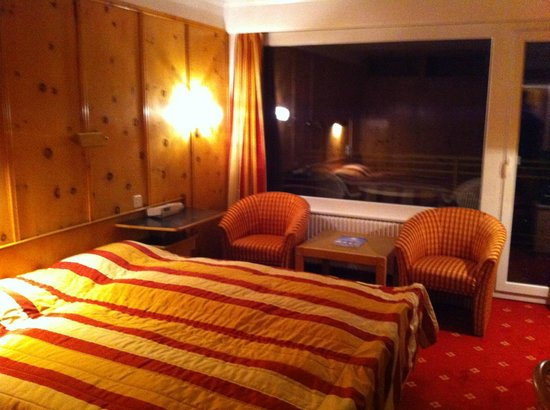 Grand Hotel du Parc : Chambre