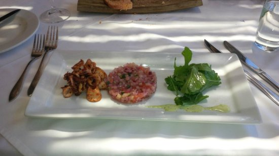 Franschhoek Kitchen: Good starter - small portion!