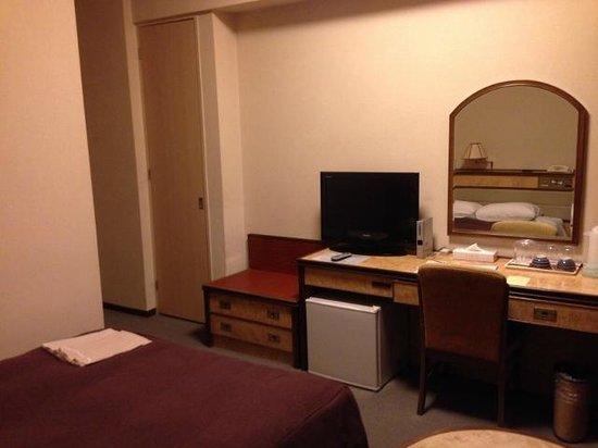 Narita View Hotel: デスク周り