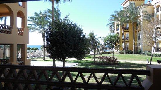 Marriott's Marbella Beach Resort: View from terrace