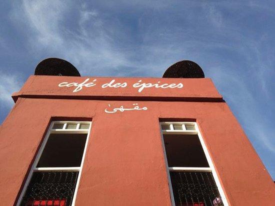 Cafe Des Epices: Front of restaurant