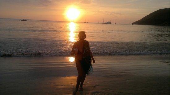 Rawai Beach: tramonto
