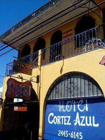 Hotel Cortez Azul: fachada del hotel