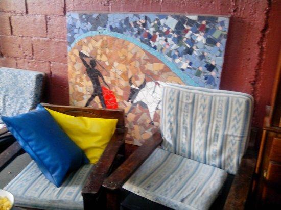 Hotel Cortez Azul: decoración