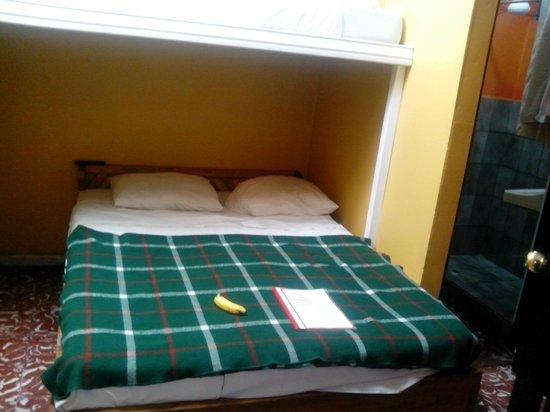 Hotel Cortez Azul: cama (limpia y cómoda)
