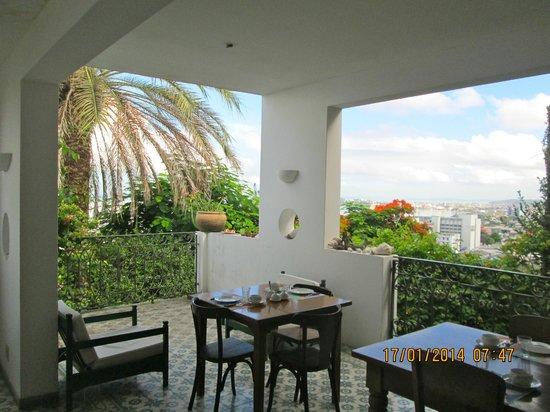Pousada do Boqueirao: Vista desde el salón de desayuno