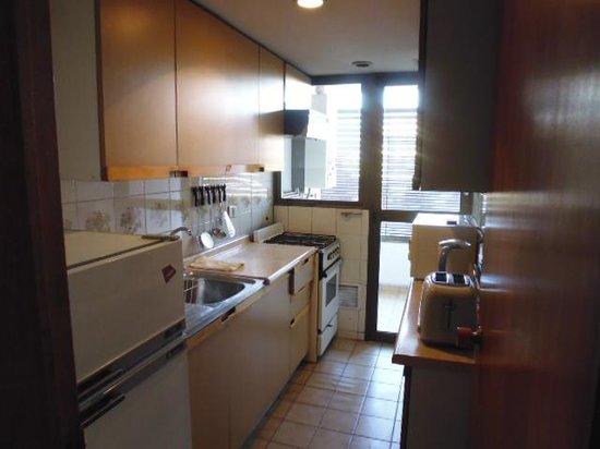 Alessandria Apart Hotel : kitchen