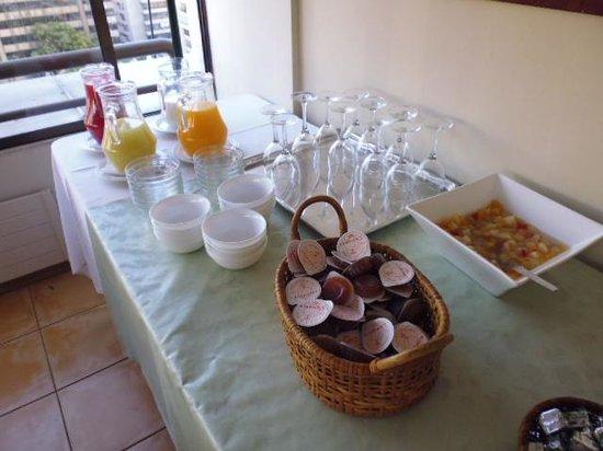 Alessandria Apart Hotel : breakfast