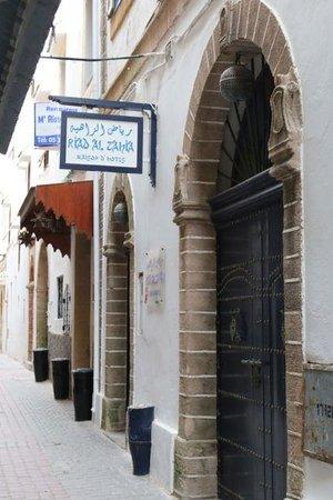 Riad Al Zahia: front entrance