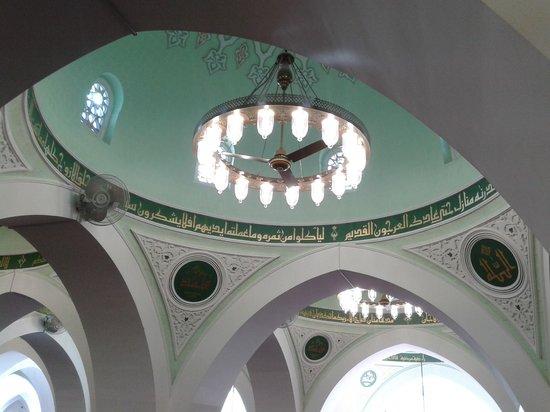 Mosquée de Quba : Inside Masjid Quba