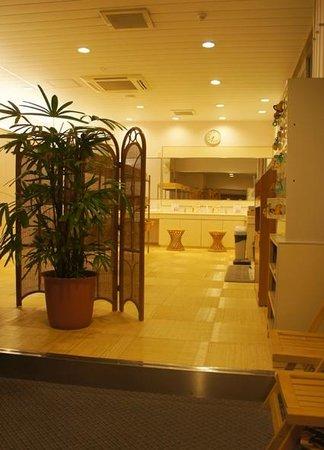 Hanabishi Hotel : うみ館のお風呂の脱衣場