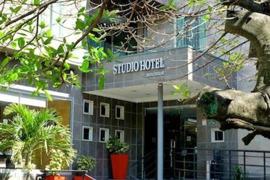 Entrance to Studio Hotel