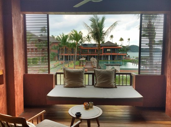 Hansar Samui Resort: The balcony