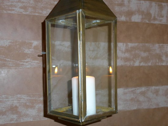 El Miria Palais Riad : Candle Hanging in the room