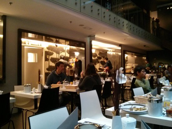 Bohem Art Hotel : sala colazione
