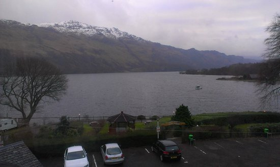 Ardlui Hotel: Loch Lomond from #23
