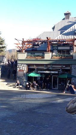 Earls Whistler: Frente do restaurante
