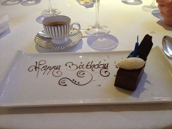 The Goring : Nice little touch!
