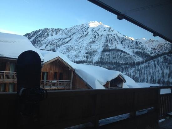 Residence Club mmv Le Hameau des Airelles : snow!