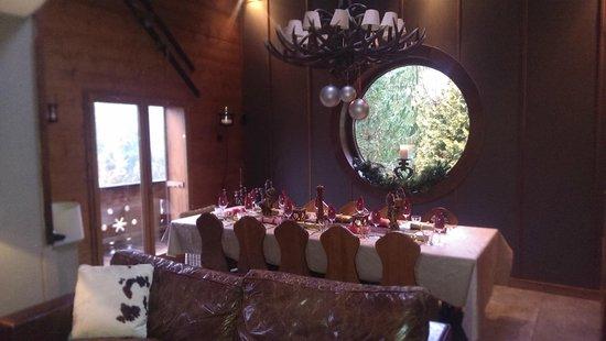 Chalet Fiona: Dinner