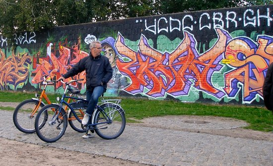 Fat Tire Tours Berlin: Ride out to the East Side gallery
