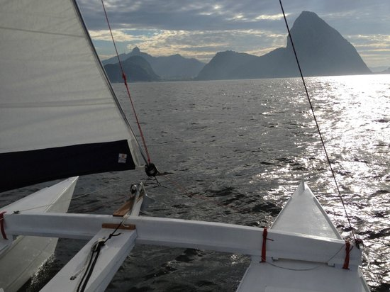 Sail Catamaran In Rio